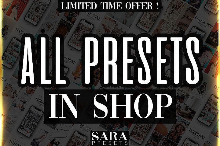 25 MOBILE LIGHTROOM PRESETS - All Presets in Shop Best Price