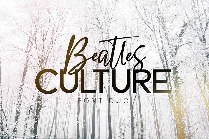BEATLES CULTURE- Font Duo
