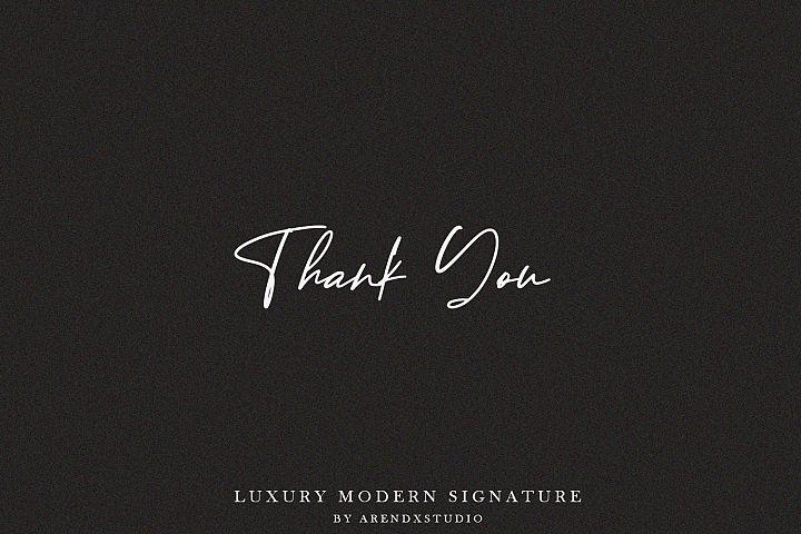 Baekrajan Luxury Modern Signature example image 12