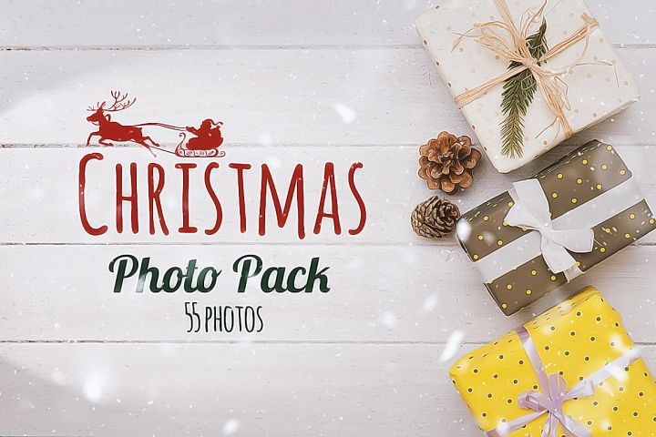 Christmas Photo Pack 55 photos