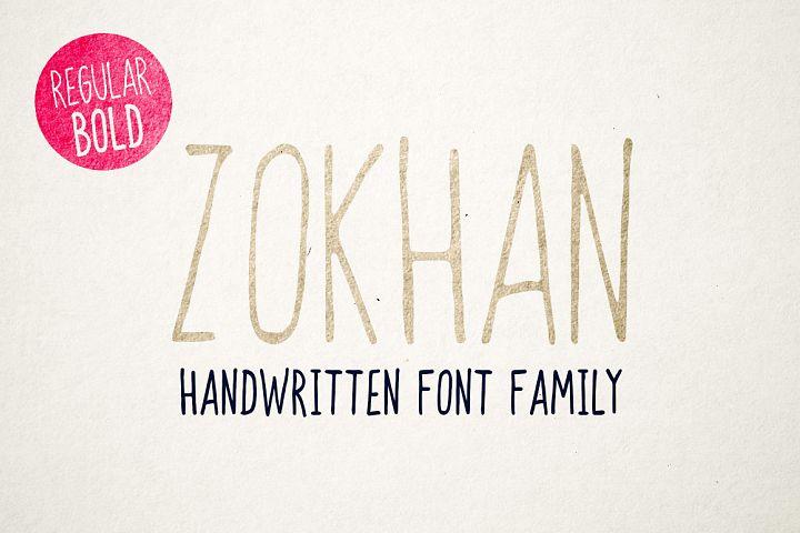 Zokhan - Font Family