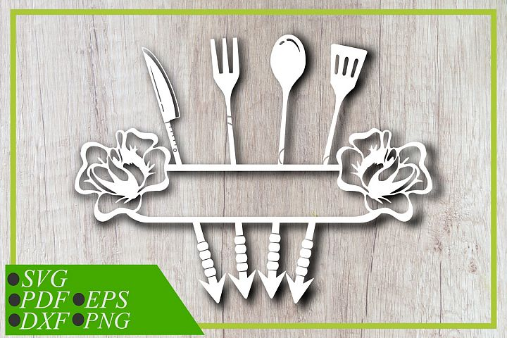 Arrow Kitchen tool svg, Arrow Restaurant svg, Cut file