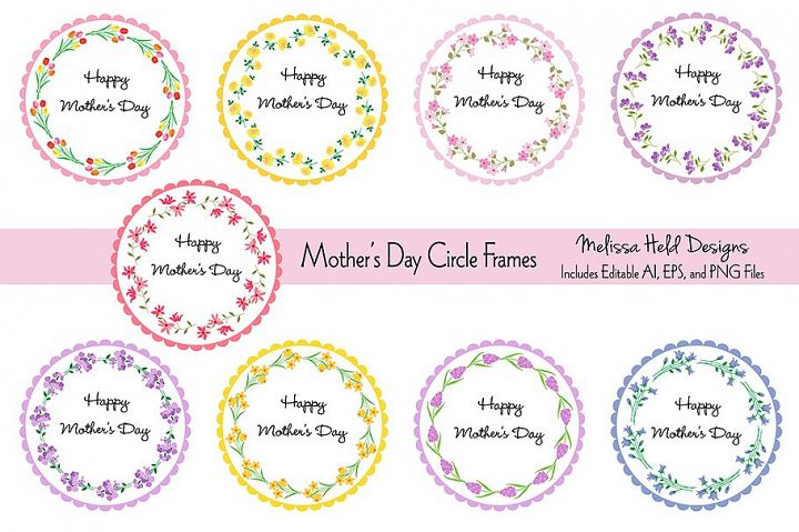 Mothers Day Heart Flowers