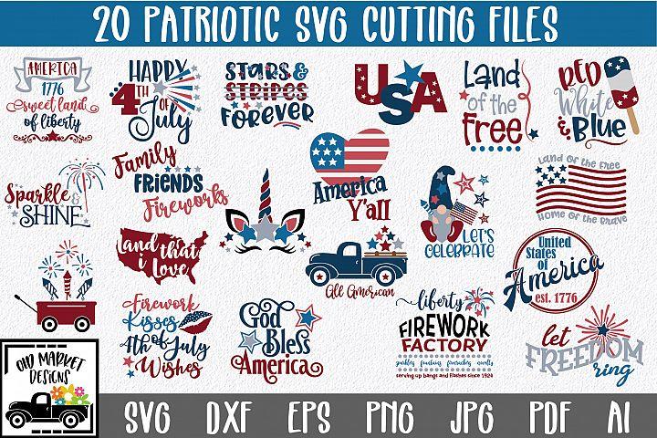 4th of July SVG Bundle- Patriotic SVG Bundle