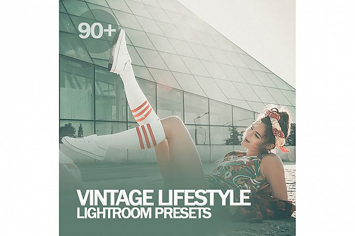 90 Vintage Lifestyle Lightroom Presets