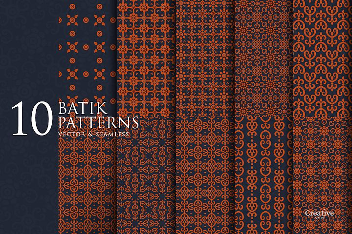 10 Batik Patterns