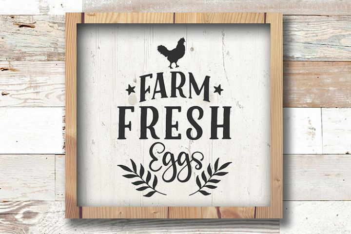 Farm svg, Farm Fresh Eggs SVG - Farmhouse sign