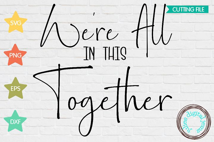 Were All in This Together Health Care SVG