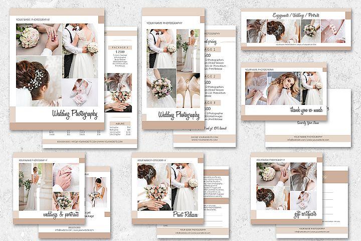 Wedding Photography Marketing Set