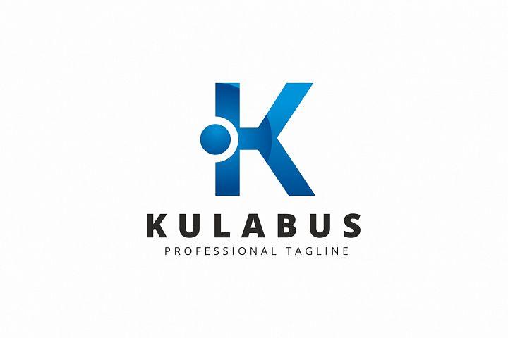 Kulabus K Letter Logo