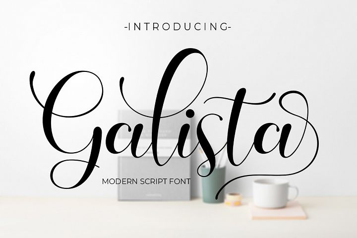Galista - Modern Script