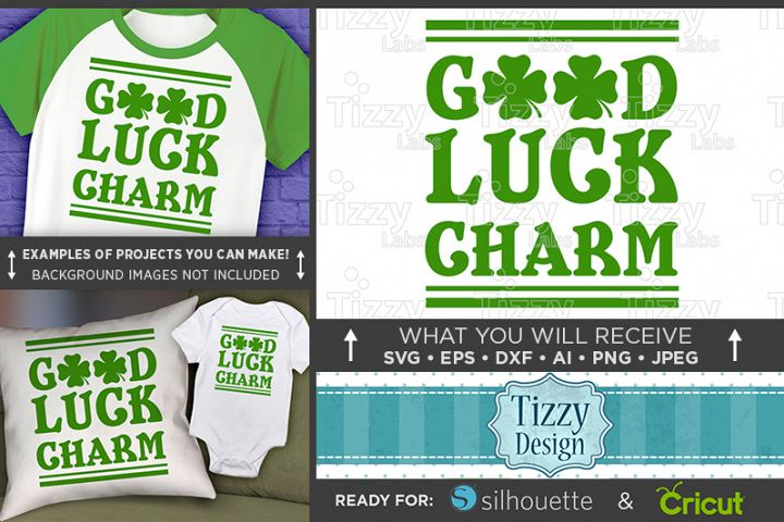 Good Luck Charm SVG - Kids St. Patricks Day - 1075