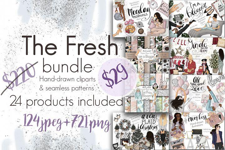 The Fresh Bundle 24 products SALE