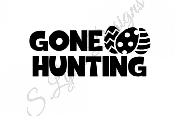 Gone Hunting - Easter Eggs SVG File