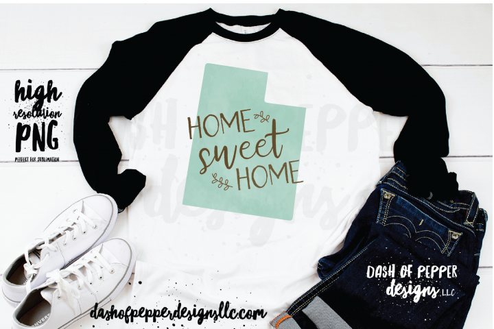 Utah - A Home Sweet Home PNG