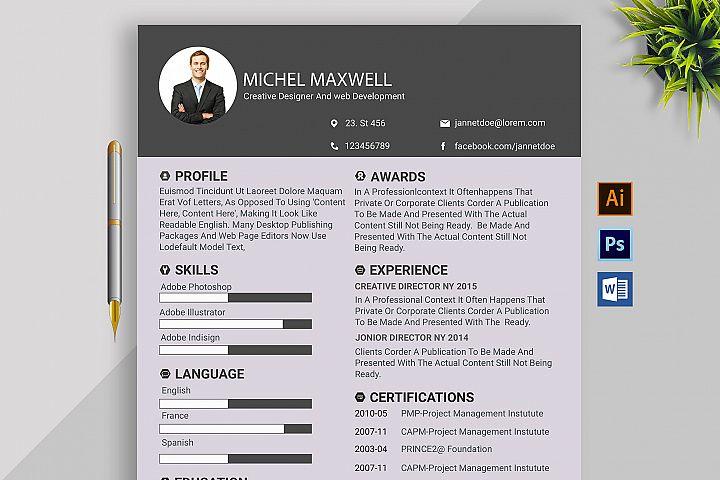 CV Resume & Coverletter Word