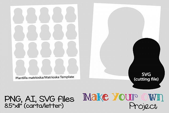 Matrioska SVG shape