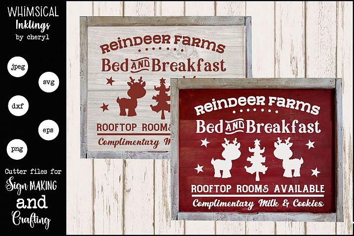 Reindeer Farms-Christmas SVG