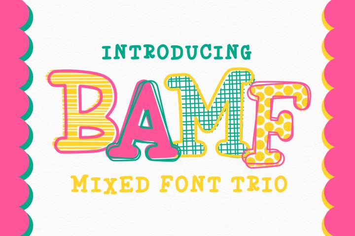 BAMF - A Crazy Font!