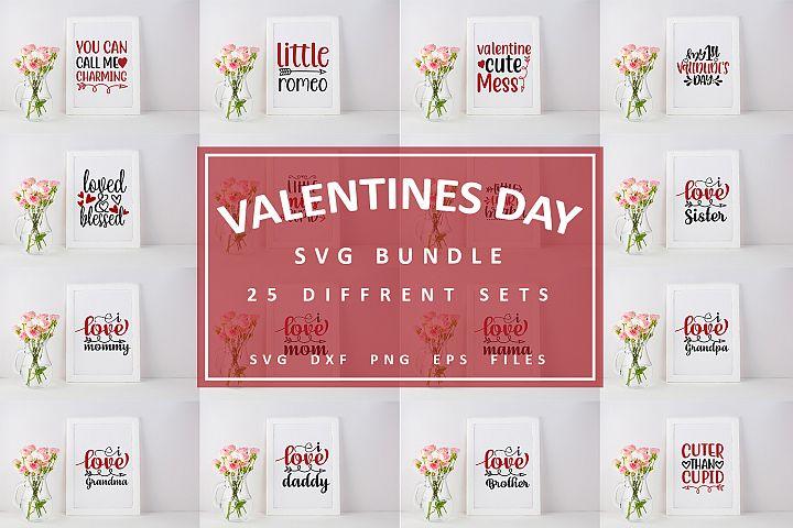 25 Valentine Svg bundle Pack_1