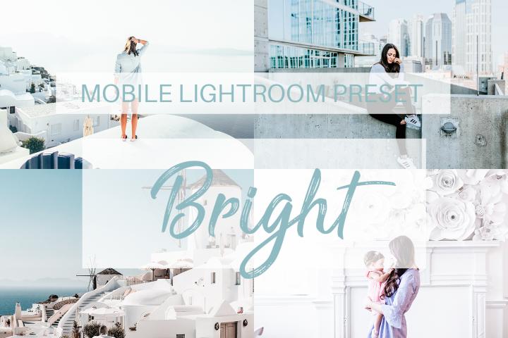 Bright Mobile Lightroom Preset