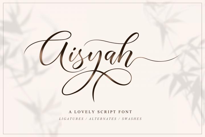 Aisyah | Lovely Script