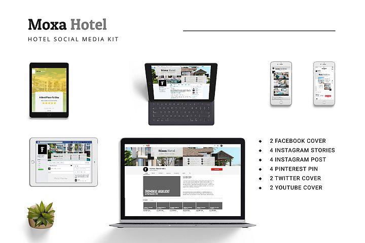 Moxa Hotel Social Media Kit