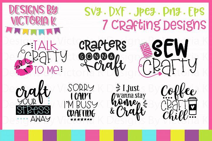 Crafting Bundle SVG cut files