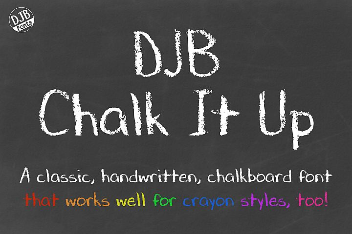 DJB Chalk It Up