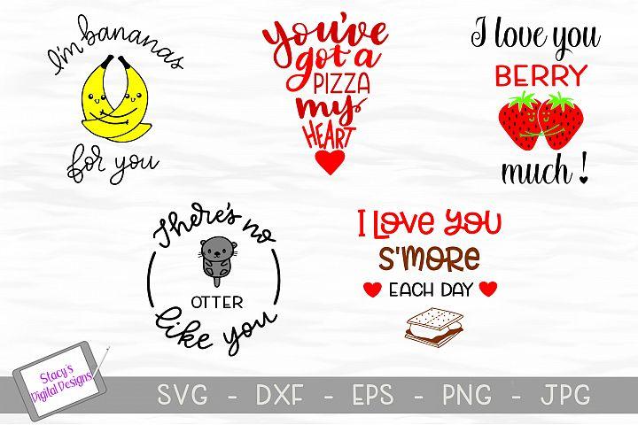 Pun SVG Bundle - Valentine Bundle