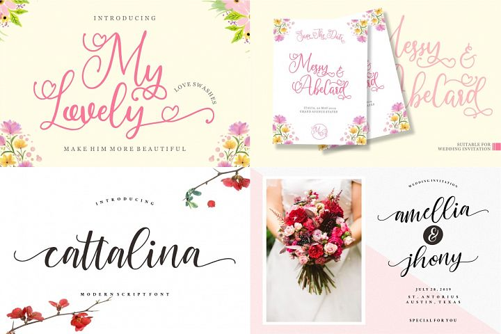 The Mega Valentine's Font Collections example image 6