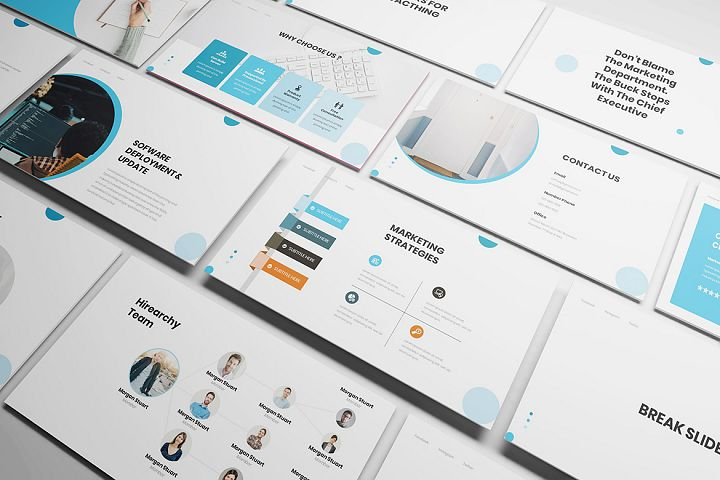 IT Consultant Keynote Template