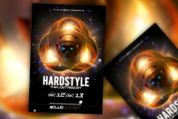 Hardstyle Flyer