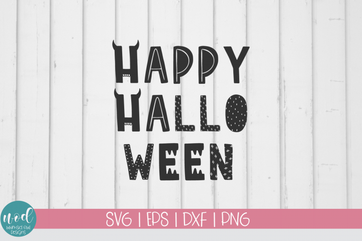 Happy Hallo Ween SVG File
