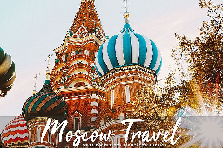 Moscow Travel Mobile & Desktop Lightroom Presets Pack