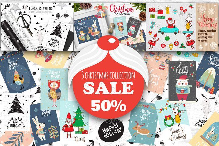 3 Christmas collection - sale 50%