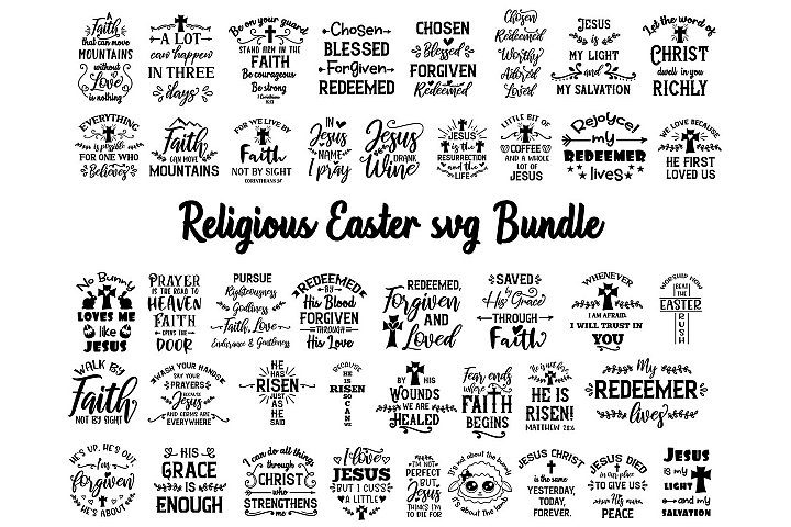 Easter religious svg bundle| Boy Easter svg | Adult Easter
