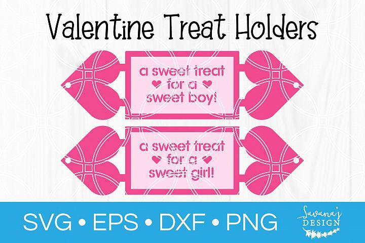 Valentine Day Treat Holder SVG Valentine Card SVG Valentine