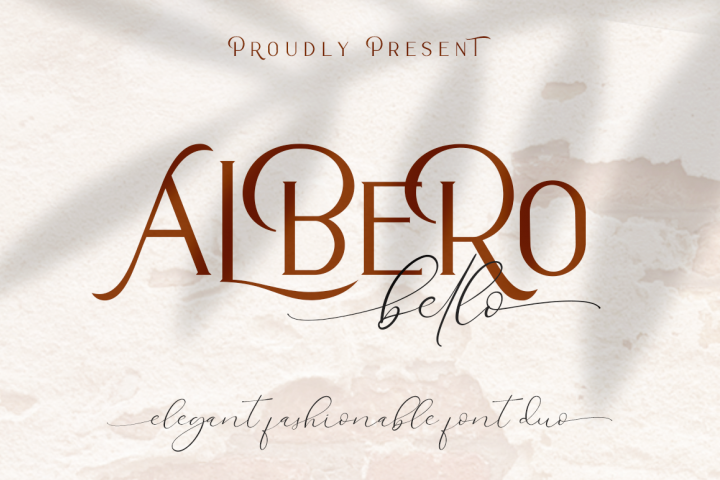 Alberobello // Fashionable Font Duo