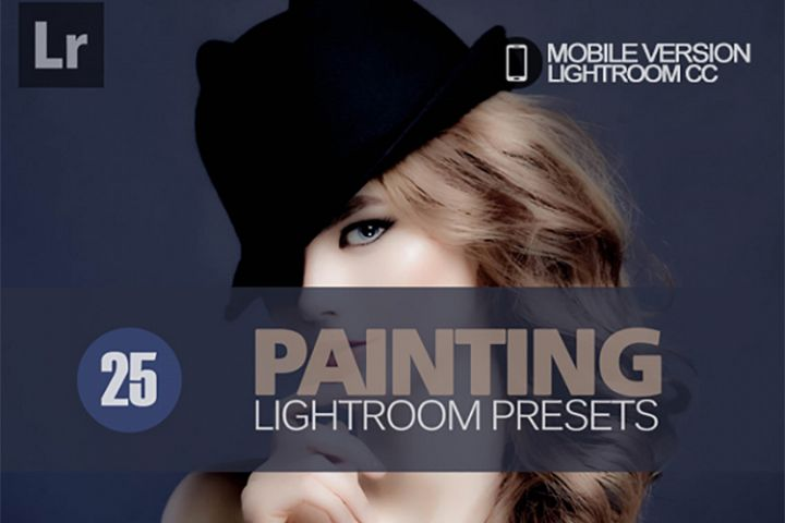 25 Painting Lightroom Mobile bundle Presets