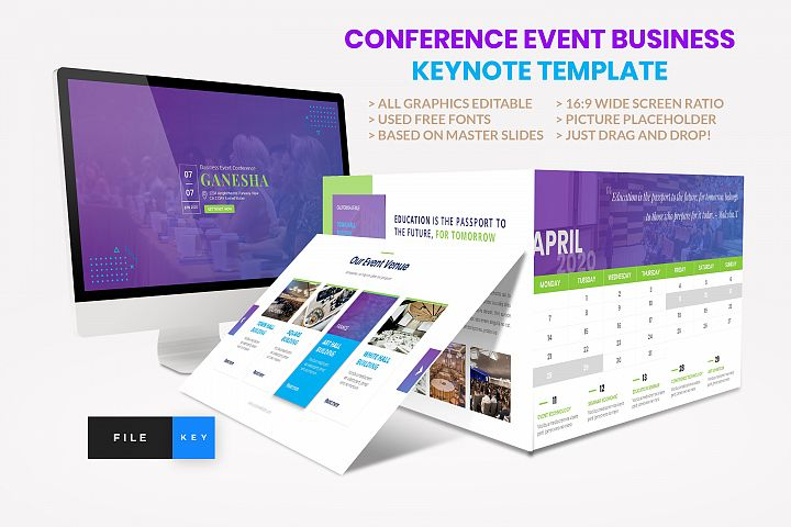 Conference - Event Business Seminar Keynote Template