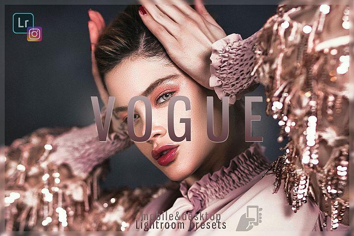 5 Vogeu professional presets mobile dng pc instagram fashion