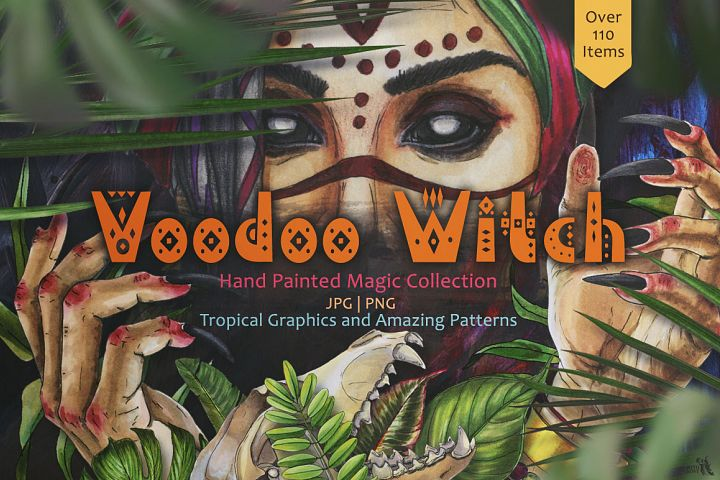 Voodoo Witch Set