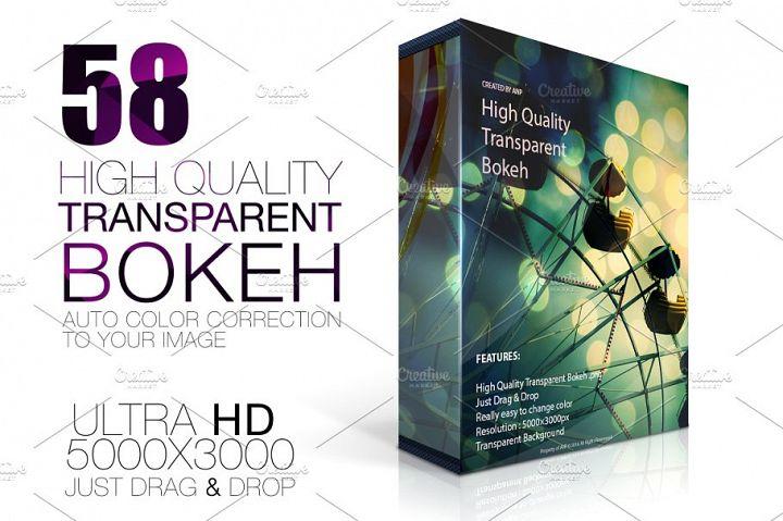 Bokeh High Quality Transparent