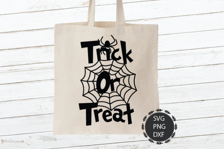 Trick or Treat Svg, Png, Dxf