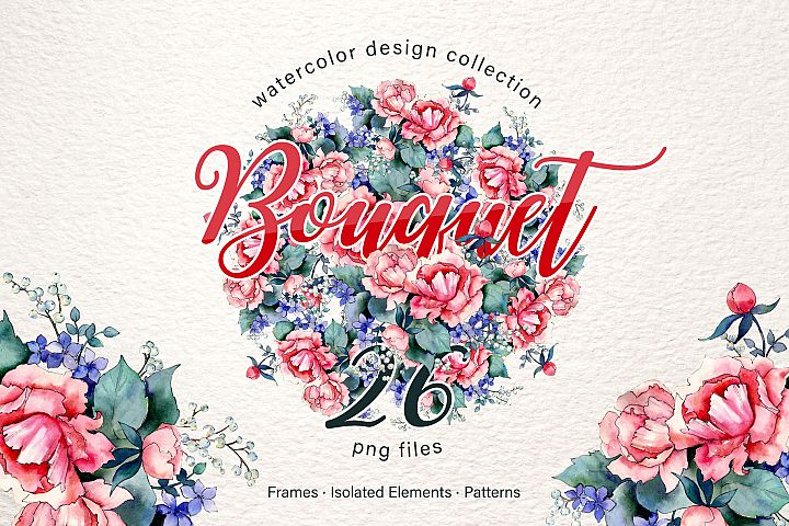 Thank you bouquet you have a watercolor png