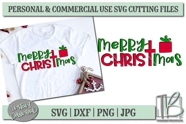 Merry Christmas SVG, Christmas Cut file example 1