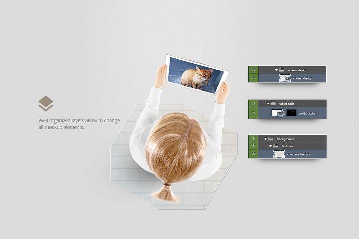 Tablet Mockup - Free Design of The Week Design 3