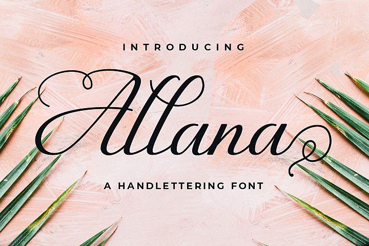 Allana example