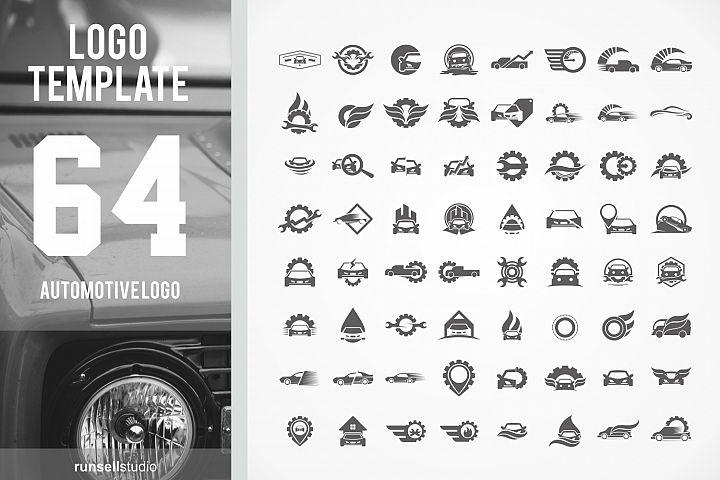 Automotive logo Template set
